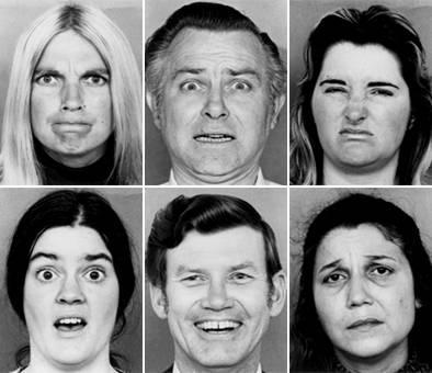 6 émotions de base